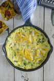 Frittata Royalty Free Stock Photos