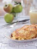 Fritter πατατών σε ένα πιάτο Στοκ εικόνες με δικαίωμα ελεύθερης χρήσης