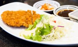 Fritter χοιρινό κρέας Στοκ Εικόνα