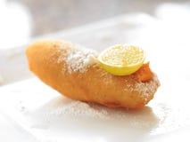 Fritters μπανανών Στοκ Εικόνες
