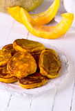 Fritters met pompoen Royalty-vrije Stock Afbeelding