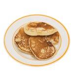 Fritters pannekoek. royalty-vrije stock afbeeldingen
