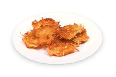 fritters potatisen Royaltyfri Fotografi
