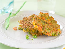 Vegetable pancakes Stock Photos