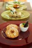 Frittierte Ananas Stockfotos