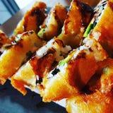 Frittierte Sushi Lizenzfreie Stockbilder