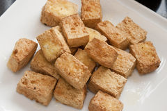 Frittierter Tofu Stockfotos