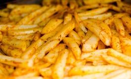 Fritture del formaggio dei peperoncini rossi Fotografia Stock