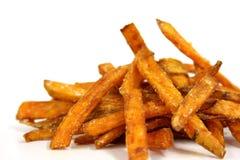 Fritture della patata dolce Immagini Stock