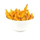 Fritture della patata dolce Fotografia Stock Libera da Diritti