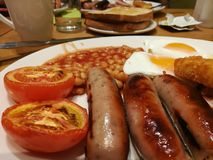 Friture pour le petit déjeuner Photo libre de droits