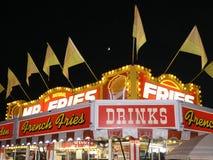 Fritures de concession de carnaval   photos stock