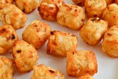 Fritures de pomme de terre de fromage images libres de droits