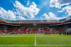The Fritz-Walter-Stadion. home to the 2. Bundesliga club 1. FC Kaiserslautern and is located in the city of Kaiserslautern, Rhine. royalty free stock photo