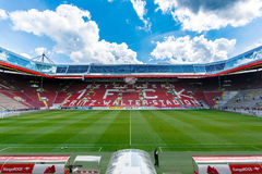 The Fritz-Walter-Stadion. home to the 2. Bundesliga club 1. FC Kaiserslautern and is located in the city of Kaiserslautern, Rhine. KAISERSLAUTERN, GERMANY Stock Photo