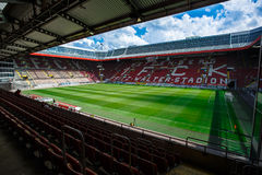 The Fritz-Walter-Stadion. home to the 2. Bundesliga club 1. FC Kaiserslautern and is located in the city of Kaiserslautern, Rhine. stock images