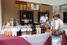 Friuli Doc. Getränk-Strömungsabriß Lizenzfreie Stockbilder