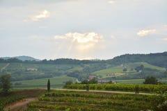 Friuli en omgeving, Italië, Europa royalty-vrije stock afbeelding