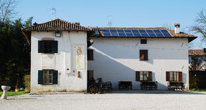 Friulian que cultiva o museu da cultura Fotos de Stock