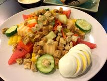 Friut salad Stock Images