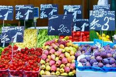 Friuts en groenten Royalty-vrije Stock Foto