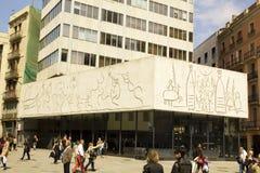 frize Pablo Picasso s 库存图片