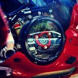 Frizione a secco di Ducati Immagini Stock Libere da Diritti