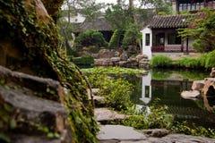 Förlagen av förtjänar trädgården Royaltyfria Foton