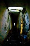 föråldrad catacombsmilitär Royaltyfri Bild
