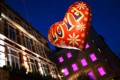 Förälskelseballong Royaltyfria Bilder