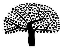 Förälskelseträd Royaltyfria Foton