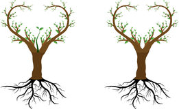 Förälskelseträdet sparar oss Arkivfoton