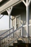 främre hus för ingång till Fotografering för Bildbyråer