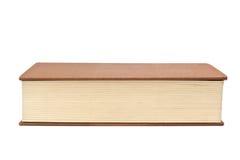 Främre kant av en bok Arkivfoto