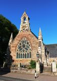 Främre sikt av den Alloway församlingkyrkan, Alloway Royaltyfri Foto