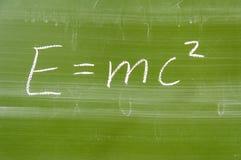Fórmula matemática Foto de Stock Royalty Free