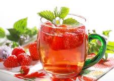 förnyande sommar för drink Arkivfoton