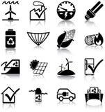 Förnybara energikällor och energieffektivitet Arkivfoton
