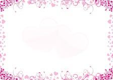 Froal hart Royalty-vrije Stock Afbeelding