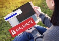 Frode che incide concetto di Scam Phising dello Spam Fotografia Stock Libera da Diritti