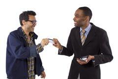 Frode della carta di credito Fotografie Stock