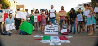 Frode elettorale nel Messico Immagini Stock Libere da Diritti