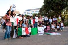 Frode elettorale nel Messico Immagine Stock Libera da Diritti