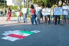 Frode elettorale nel Messico Fotografia Stock Libera da Diritti