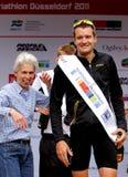 Frodeno de enero, düsseldorf del triathlon Foto de archivo
