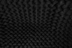 Frodig lyxig exklusiv flott svart vävd yttersidamodellbakgrund arkivbilder