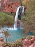 frodig vattenfall Royaltyfri Bild