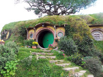 Bag End, Hobbiton, New Zealand Royalty Free Stock Photos