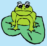 Frog 01 Royalty Free Stock Images