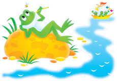 Free Frog Royalty Free Stock Photos - 17629248